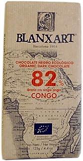 comprar comparacion Blanxart Tableta de Chocolate Negro Ecológico - Congo 82% Cacao 1 Unidad 125 g