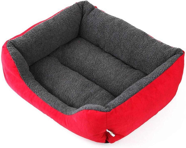 Dixinla Pet Bed Pet Litter Dog Cushion cat nest Kennel Waterproof bite Stain Resistant