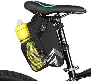 WOTOW Asiento de Bicicleta, Bolsa de sillín, Espacioso Bols