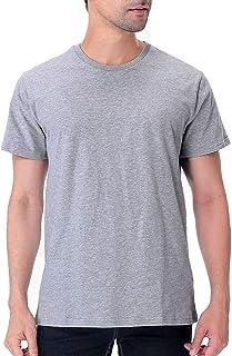 Funny World Men's Heavyweight Thick Cotton Soft T-Shirts