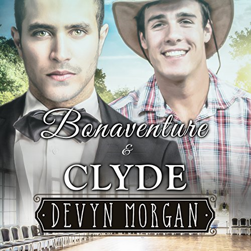 Bonaventure and Clyde audiobook cover art