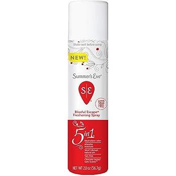 Summer's Eve Feminine Deodorant Freshening Spray, Blissful Escape, 2 FL OZ