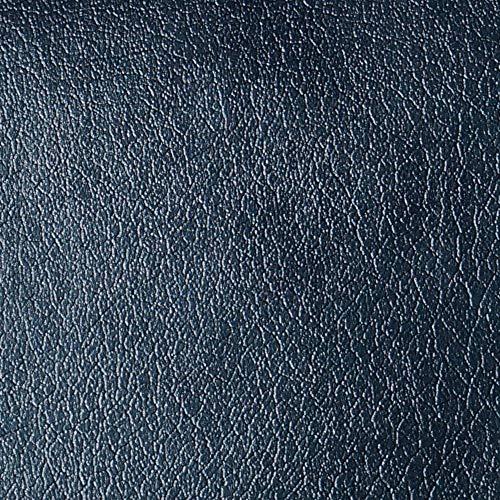 Neoxxim Selbstklebende PVC Lederfolie 11,84€/m2 Lederoptik Folie Meterware Schwarz 50x152 cm Klebefolie Dekorfolie