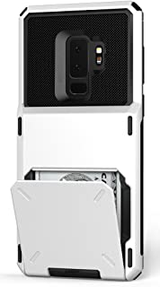Vrs Design VRS91740 Galaxy S9 Plus Damda Folder Kılıf, Cream White