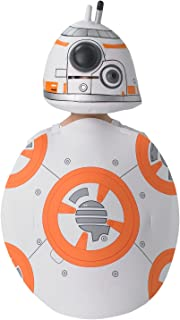 Rubie's 630597NS Official Star Wars BB-8 Tabard and Hat Costume, Kids', One Size