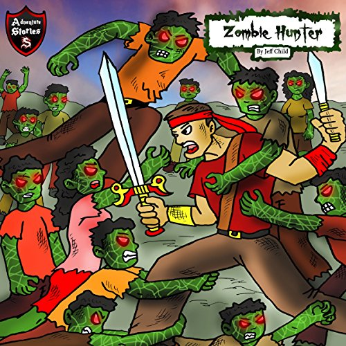 Zombie Hunter audiobook cover art
