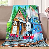 Blanket Train Toy Model Train Park Indoor/Outdoor, Suitable for All Seasons 30'x50'
