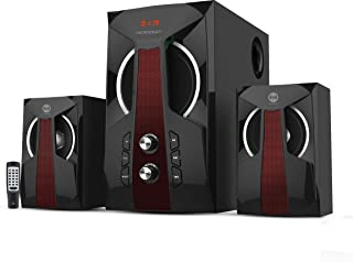 Home Theater 2.1 subwoofer with 2 speaker with remote LED screen,Bluetooth, SD card, USB, and AUX