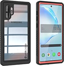 Punkcase Galaxy Note 10 Plus Waterproof Case [Extreme Series] [Slim Fit] [IP68 Certified] [Shockproof] [Dirtproof] [Snowproof] Armor Cover Compatible with Samsung Galaxy Note 10+ Plus [Pink]