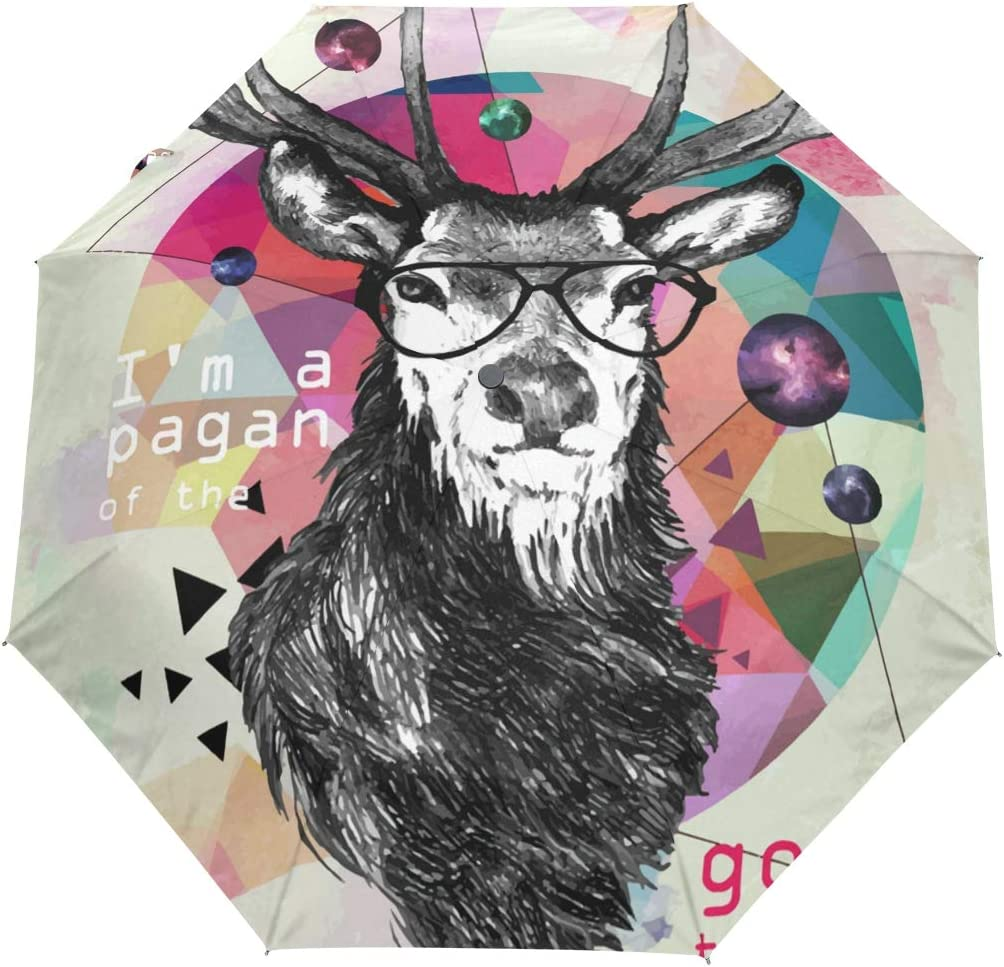 Automatic Foldable Popular popular Umbrella Deer Color Special price for a limited time Protection Fashion UV Aut