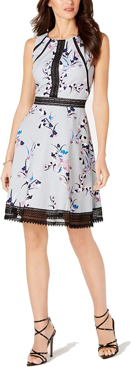 GUESS Limited time for free shipping Women's Floral Brand new Print Knee-Length Dress Cocktail