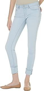 YMI Women's Luxe Mega Cuff Skinny