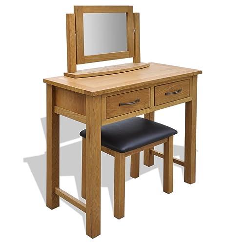 new concept a4dc6 43799 Oak Dressing Tables: Amazon.co.uk