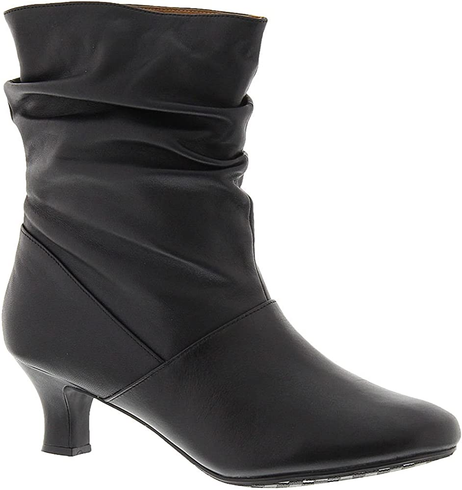 ARRAY Womens Rhythm Closed Toe Mid-Calf Fashion Boots, Black, Size