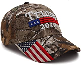 Donald Trump Hat 2020 Keep America Great KAG MAGA with USA Flag 3D Embroidery Hat