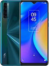 """TCL 20 SE 6.82"""" Unlocked Cellphone, 4GB RAM + 128GB ROM, US Version Android 11 Smartphone with 48MP Rear AI Quad-Camera, 5..."""