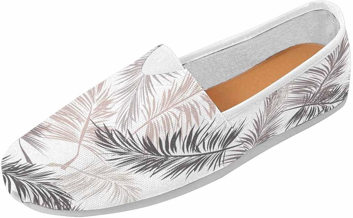 INTERESTPRINT Women's Classic Flats Casual Comfortable Flat Slip-On Loafer