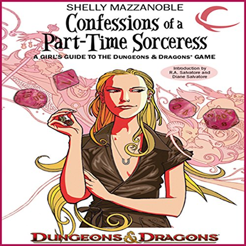 Confessions of a Part-Time Sorceress audiobook cover art