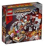 LEGO21163MinecraftTheRedstoneBattleBuildingSetwithGolemandMonsterFigures,ToysforKids8+YearsOld