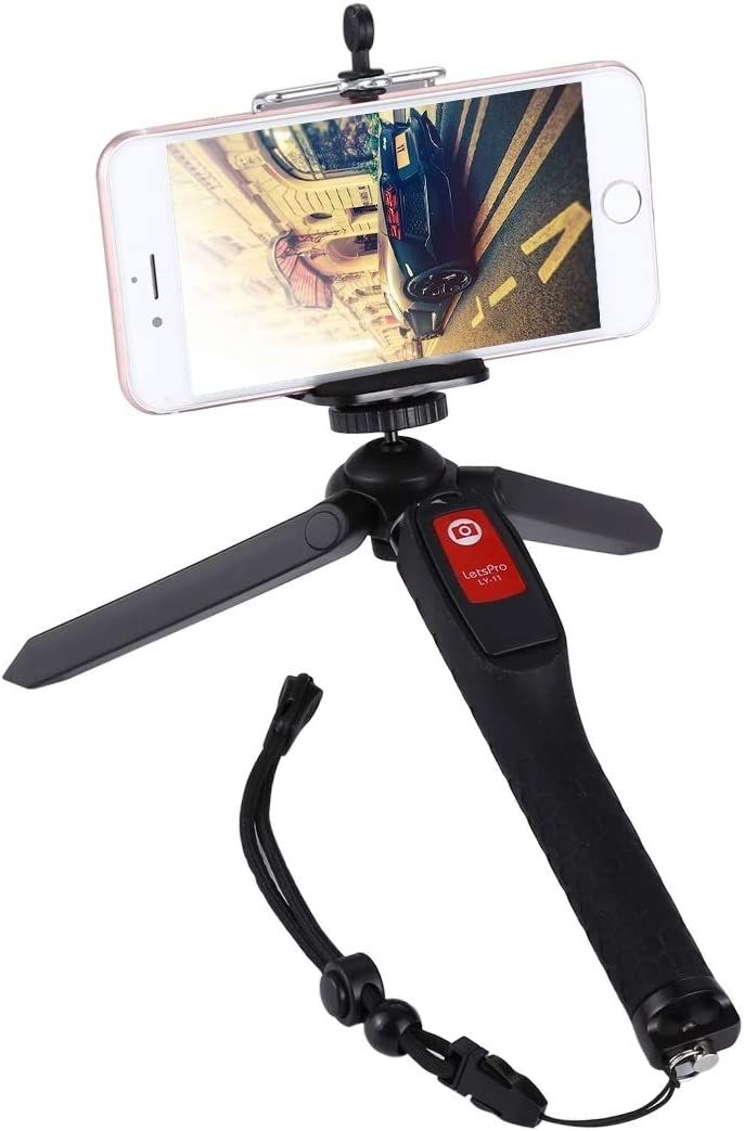 CAOMING Max 75% OFF Letspro LY-11 3 in Tripod Self-Portrait Handheld Excellent 1 Monop