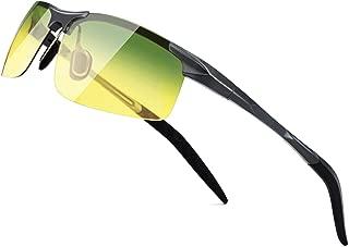SUNGAIT Men's Polarized Sunglasses for Driving Fishing Golf Metal Frame UV400