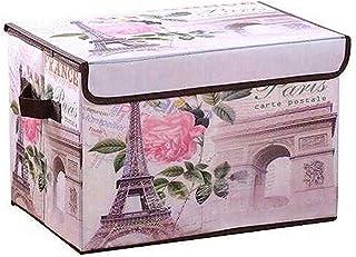 Lidylinashop bac Rangement Cube Rangement Tissu Cube boîtes de Rangement Coffres à Jouets et de Stockage Grand Boîtes de R...