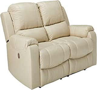 Signature Design by Ashley Rackingburg Reclining Power Loveseat Vanilla