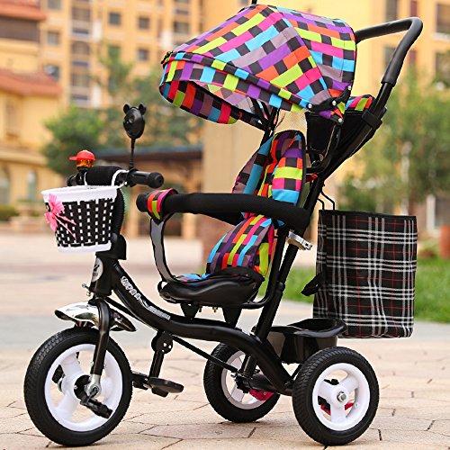 Carrito de bebé inflable de la niña, bici, triciclo de los niños, carretilla ligera, bici de los niños ( Color : # 6 )