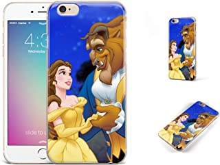 GSPSTORE iPhone 7 Plus Case,Beauty and The Beast Cartoon Soft Transparent TPU Protector iPhone Case Cover for iPhone 7 Plus£¨5.5Inch£ #02