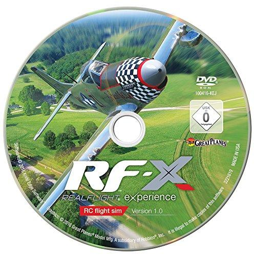 Great Planes Software de simulador de Vuelo controlado por Radio RealFlight X