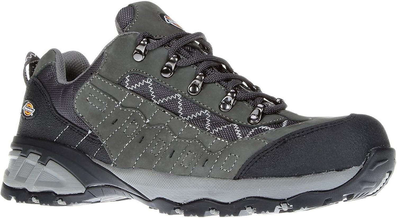 Dickies Men's Gironde S3 Safety shoes FC9508 Grey 11.5 UK, 46 EU Regular - EN safety certified