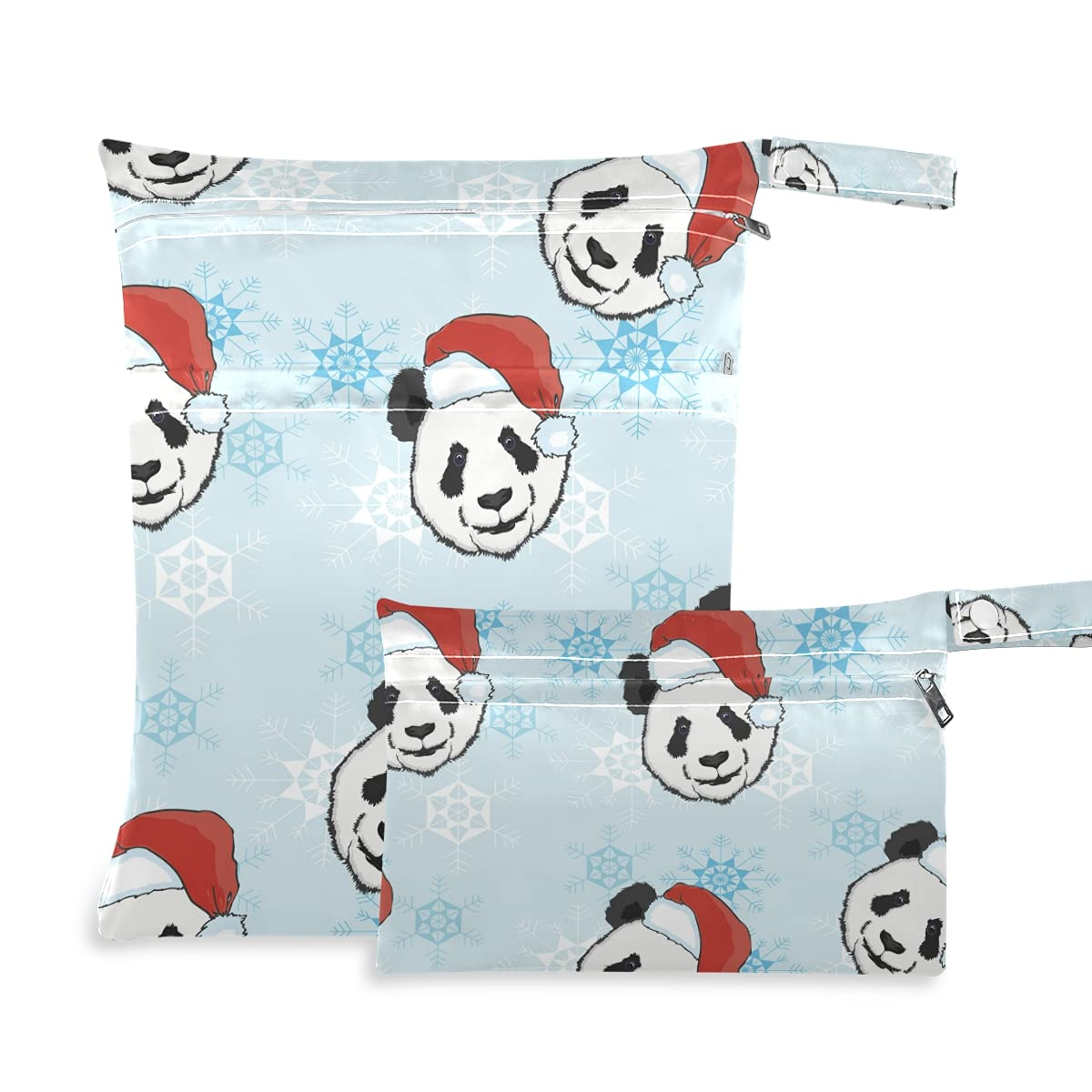 Panda Santa Hat Wet Dry for Great interest Bag Super sale Diaper Reusable Swimsuit