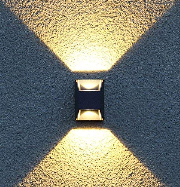 YLCJ Wandleuchte, LED Bis hinunter zum Design, kreativer Minimalismus der Projektoren Schlafzimmer Wohnzimmer Küche Restaurant Korridor Lesesaal mit geringem Gewicht Der Balkon -A 7.88  8.8  12.4cm