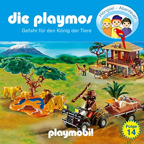 Gefahr für den König der Tiere. Das Original Playmobil Hörspiel Titelbild