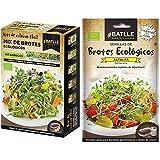 Semillas Batlle Ecológicas Bortes - Brotes Mix Eco Vitamínicos + Ecológicas Brotes - Brotes Ecológicos De Alfalfa