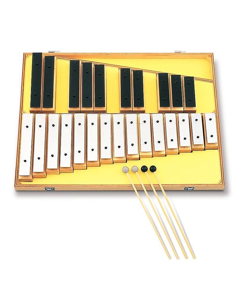 激怒海峡臭いSUZUKI スズキ オルフ楽器 サウンドブロック 2オクターブ 25音 SB-25
