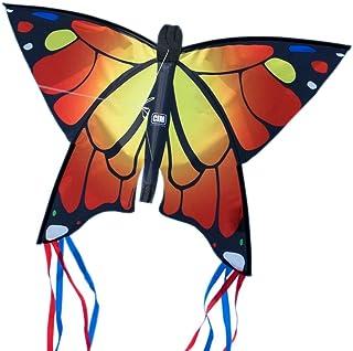 0Miaxudh Cometa de Mariposas Cometa de Mariposas Coloridas para Volar al Aire Libre con Cuerda enrollador para ni/ños de Juguete para ni/ños