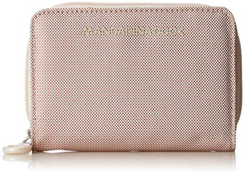 Mandarina Duck Damen Md20 Portafoglio Geldbörse, Pink (Misty Rose), 10x21x28.5 cm