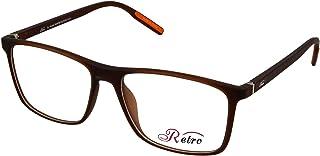 RETRO Unisex-adult Spectacle Frames Square 5501 M.Brown
