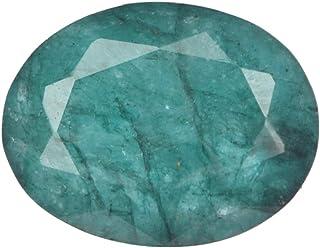 Piedra Preciosa Suelta Esmeralda Natural, Forma Ovalada facetada Piedra Preciosa Suelta Esmeralda Verde, Piedra Natal de M...