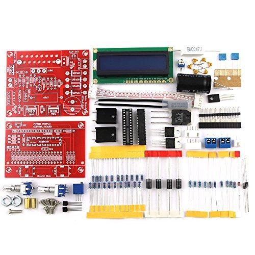 KKmoon Einstellbar 0-28V 0,01-2A DC Power Supply DIY Kit LCD Anzeige Short Kurzschluss/Strombegrenzenden Schutz Geregelt¡