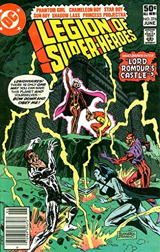 Legion of Super-Heroes, The (2nd Series) #276 (Newsstand) FN ; DC comic book