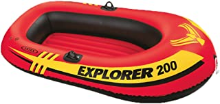 Intex 2-Person Sea Hawk Boat Set 73 in. X 37 in. 18 Ga Vinyl