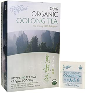 Prince of Peace Organic Oolong Tea – 100 Tea Bags (Pack of 3)