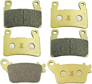 SYUU Motorcycle Replacement Front Rear Brake Pads Brakes for Kawasaki Ninja636 ZX-6R ZX 636 636cc ZX6R ZX 6R 2013 2014 2015 2016 2017 2018 FA296F FA436R