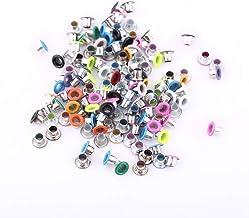 500 Stks 3 MM Ronde Vorm Metalen Doorvoertules Gemengde Kleur Scrapbooking Doorvoertules Voor Lederen Tas Maken