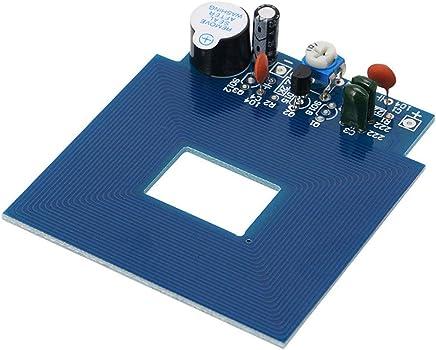 Festnight Regulador Remoto inal/ámbrico del Metal 433MHz con el Llavero con el Brazo//desarma//el Brazo casero//SOS 4 Botones teledirigido Nuestro Sistema de Alarma 433MHz