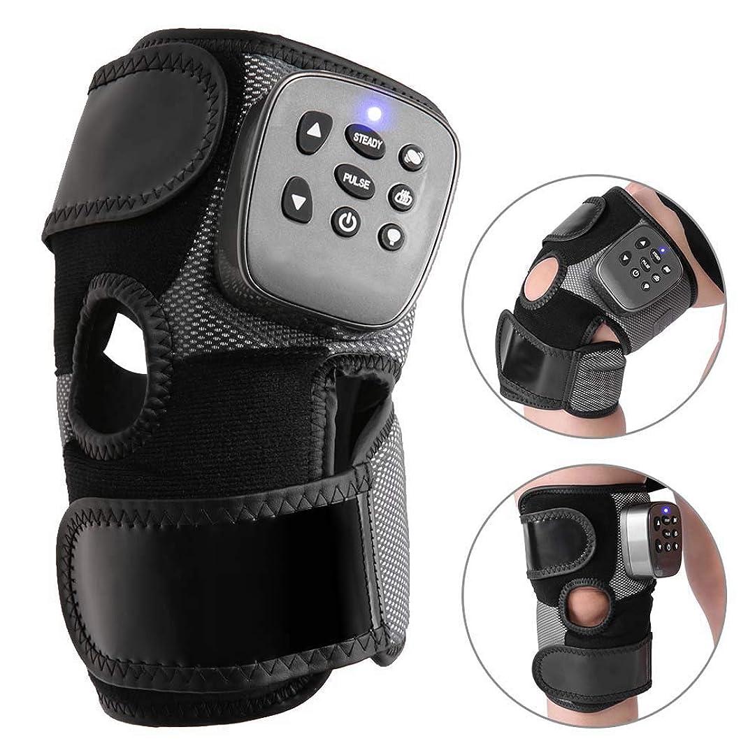 分注するソースタイプライター熱膝装具ラップ、関節炎、腱炎、硬い関節、筋肉痛の緩和のための加熱および振動マッサージ