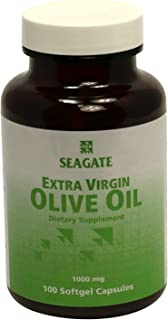 Seagate Products Extra Virgin Olive Oil 1000 mg 100 Soft-Gels