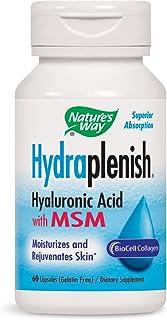 Nature's Way Hydraplenish Plus MSM - 60 Capsules (Pack of 3)